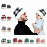 Parent- child Beanie Winter Warm Adult Kid Knitted Cap Outdoo...