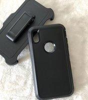 Nuevo defensor de la caja de la caja del teléfono a prueba de golpes para el teléfono 12 12pro 12 pro max con clip