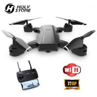 Drones Kutsal Taş YC006 Katlanabilir 720 P RC Drone Kamera HD WIFI FPV Profissional Quadcopter Quadrocopter Dron1