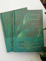JOYTOP Çimen Yaprak Ciltli Dizüstü Bilgisayar B6 Nordic Yeşil Bitkiler Ins Ins Günlüğü Yatay Hattı Izgara Boş İç Sayfa Not Defteri 1 adet1