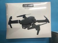 2021E88 Max Mini Fotografia Drones Videotransmissor 4K Pro Profesional HD Camera WiFi Controle Remoto Quadcopter Bateria Entrega GRÁTIS