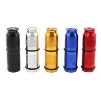Neue Aluminium Zylindrische Cracker Punktion Flaschenöffner Pollen Presse Creme Whipper Spender Raucher Werkzeug Hohe Qualität Tragbare Halterung