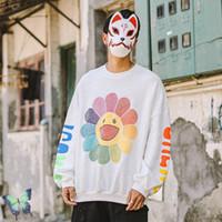 Sonbahar Kış Gülen Tişörtü J Balvin Çift Ayçiçeği Baskı Kazak Erkek Kadın Yüksek Kalite Rahat Hoodies