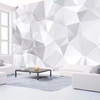 Обои на заказ роспись обои 3D абстрактное искусство геометрическое Po настенные бумаги гостиной телевизор фона домашнего декора 3 d papel de parede
