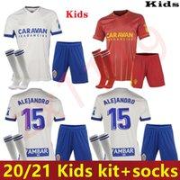 2020 kinder kit 2021 echt zaragoza shinji kagawa fußball jersey 20 21 home zapater vazquez pombo camiseta de futbol fußballshirts