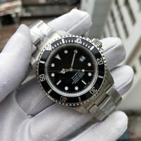 BP Fabrika Retro Saatler Klasik 40mm 16610 Eski Stil Serisi Erkekler İzle Otomatik Noel Paslanmaz Çelik Kayış Siyah Alüminyum Çerçeve