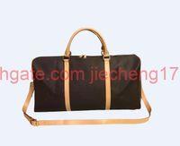 55cm Brand Designer Männer Frauen Gepäck Handtasche Sport Outdoor Packs Schulter Reisetaschen Messenger Bag Totes Unisex Handtaschen Duffel Koffer