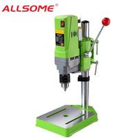 Allsome Miniq BG-5156E Bank Bohrerständer 710W Mini Electric Bank Bohrmaschine Bohrfutter 1-13mm HT2600 201226