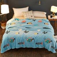 Papamima dünn wirft Blanket Fleece-Plaids mit mehreren Größe-Bettsheet Multifunktionale BettSpread T200901