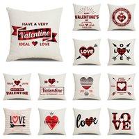 День Святого Валентина наволочка решетка Любовь серия белья, обнимающая наволочку гостиницы торговый центр