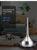 FreeShipping Увлажнитель воздуха Эфирное масло Диффузор Ароматерапия для дома Ультразвуковой увлажнитель воздуха USB Электрический Металл Mist Maker светодиодные