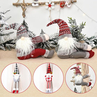 15 Stile inarcamento della tenda Tieback Santa Snowman cortina Tiebacks Holdback Fastener fibbia morsetto decorazioni di natale ornamenti