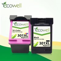 ECOWELL Remanufactured for 301 301 for Deskjet 2050 1000 105...