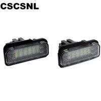 CSCSNL 2 шт. Автомобиль светодиодные лицензионные фонари для W211 W203 5D W219 R171 Нет ошибки для белого номера пластины лампы 12V1