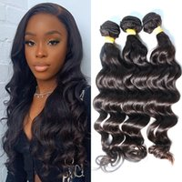 Brazilian Human Hair Weave Natural Wave Unprocessed Malaysia...