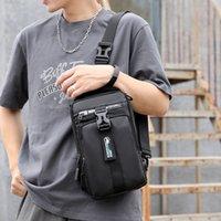 2021mens NOUVEAU Bag d'affaires multifonctionnels Nylon résistant à l'usure Simple Daily Mobile Téléphone Sac de téléphone extérieur Messenger Pack Packet