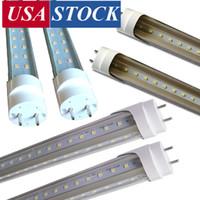 4FT G13 Lampadine a LED, 36W 72W Tubi a LED, lampadine fluorescenti, doppio-end power-end, 2 pin Bi-Pin G13 Ruota cap gita girevole terminali dimmerabili