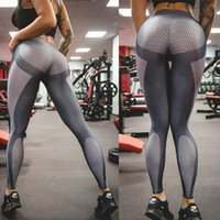 Women Sexy Leggings Plus Size Polyester Breathable Slim 3D D...