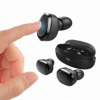 T12 TWS Bluetooth 5.0 наушники Sports In-ear Wireless Earbuds Stereo Bass беспроводные наушники мини-гарнитура