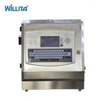 Hochwertiges kontinuierliches Industriekasten Verfallsdatum Batch-Nummer Injizieren Druckmaschine Inkjet Drucker1