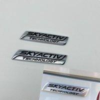 Untuk Mazda 2 3 5 6 CX-3 CX3 CX-5 CX-5 CX-7 CX7 MX-5 SKYACTIV TEKNOLOGI BAGASI GATE DE SOULAGE EMBLEM LENCANA SIMBOL TANDA