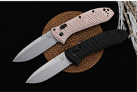 Benchmade BM 5700 Cuchillo plegable S30V Blade 6061 Manija de aluminio Camping al aire libre BM3300 C07 BM601 BM 940 Cuchillo