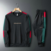 SweatSuit occasionnel Hommes Tracksuits Broderie Sweats à capuche + Pant Hommes Vêtements Sweat-shirt Pull Hommes Femmes Casual Tennis Tennis Sport
