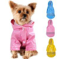 ماء الكلب حيوان أليف مقنع معطف معطف المطر في الهواء الطلق معطف الجرو سترة الملابس زي للكلاب تشيهواهوا يوركشاير 1