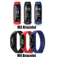 جديد M3 M4 الذكية الفرقة اللياقة المقتفي الرياضة سوار معدل ضربات القلب الذكية ووتش 0.96 بوصة smartband مراقب الصحة الاسوره pk mi band 4