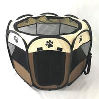 Портативный Перро Дом Больших Малых Собаки Открытого собак Кейдж дома для Складной Крытой манежа Puppy Кошки Pet Dog Bed Палатки