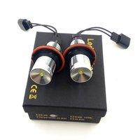 Freies Verschiffen 10W Fehlerfreie LED-Marker Angel Eyes Halo Ring Licht für BMW E60 E61 E87 E39 E63 E64 E65 E66 X3 E83 X5 E65 E66 X3 E83 X5 E53 1/5/6/7 Serie