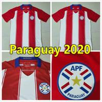 2021 Paraguay Soccer Jerseys 20 21 نسخة لاعب الفريق الوطني Home Away Camiseta Fútbol Men Football قميص كيت مايوت دي فوتول