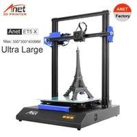 Anet 3D 프린터 ET5X FDM 자동 침대 레벨링 대형 프린터 최대 300 * 300 * 400mm 지원 오픈 소스 Marlin1