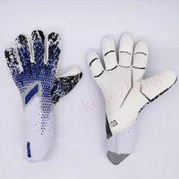 Niño profesional adulto fútbol portero guantes grosor látex fútbol portero guantes