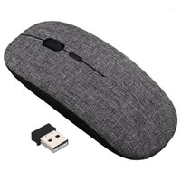 2.4 GHz Mouse wireless Ultra Slim Optical Mouse Mouse Mouse Ricevitore USB 1600DPI Muto Muto per laptop1