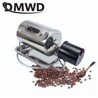 Кофе ROASTERS DMWD 110V / 220V бобы жарки из нержавеющей стали кафе фасоли жареные машины для выпечки жареные арахис зерновые орехи сушилки ЕС US UK PLUCK1
