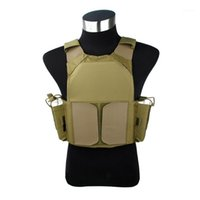 TMC New Tactical Plate Carrier Styling Vest Khaki per attrezzature tattiche TMC26911