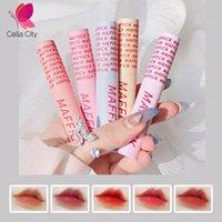 Cellacity vendita caldi donne Cosmetici Nuovo stile Macaron Lip Glaze Vibrato trucco duraturo Air Liquid Lip Gloss all'ingrosso
