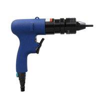 M6m8 pneumatique aveugle riveter pistolet bleu rivet noix pneumatique pull pistolet auto-verrouillage de qualité industrielle riveting et fixation divers métaux