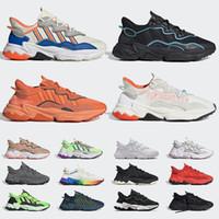 핫 adidas ozweego  남성 여성 캐주얼 신발 할로윈 킹 반사 제노 블랙 밝은 청록색 푸샤 T 남성 레트로 트레이너 스포츠 스니커즈 36-45을 밀어