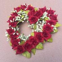 مهرجان الاصطناعي زهرة ديكور المنزل على شكل قلب اكليلا الزهور الزفاف مكان تأثيث الحب قلوب تكاليف جديد وصول 7 2oy L1