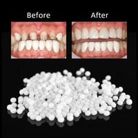 100g FalseTeeth Katı Tutkal Geçici Diş Onarım Set Diş Ve Gap Falseteeth Katı Tutkal Protez Yapışkan Diş Hekimi Reçine