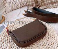 2021 nuevos diseñadores de lujo bolsas de moda cadenas de moda mujeres bolsos de cuero femenino madre paquete bolsa mano madre billetera de embarque bolsa