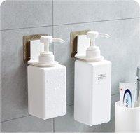 Новая ванная комната Шампунь для душа для душа для душа Держатель для душа для полки половки вешалка настенный стена подставка всасывающая чашка висит супер SUC Wmtrjg