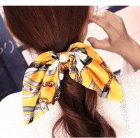 12 Arten Korea Haar Scrunchie Elastische Haarbänder Solide Farbe Frauen Mädchen Headwear Pferdeschwanzhalter Haarschmuck