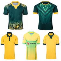 2019 2020 Australie Wallabies Jersey 19 20 Rugby Jerseys National Rugby League Shirt Australien Wallabies Chemises Jerseys Hommes