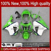 Körper für Honda VTR1000 RC51 SP1 SP2 00 01 02 03 2003 2004 2005 weiß 2006 98HC.125 grün VTR-1000 VTR 1000 2000 2001 2002 04 05 06 Verkleidung