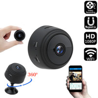 A9 WiFi Mini Câmera 1080 P IP Sem Fio Telefone Remoto App Monitor Home Security P2P Cam Noite Visão Visão Câmaras de Vigilância