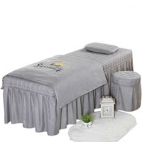 High Quality Beauty Salon Bedding Set Thick Bed Linens Sheet...
