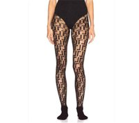 Full Letters Printed Women's Tights Sexy Lady Party Nightclub Black Stocking Thin Mesh Women Long Stockings 4 Colors